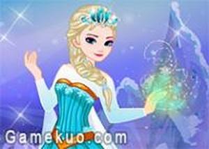 冰雪女王裝扮佈置