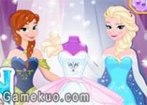 冰雪奇緣婚紗禮服