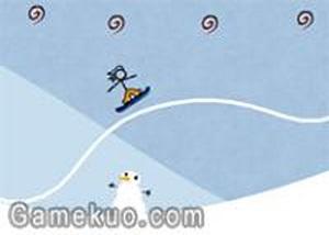 火柴人花式滑雪無敵版
