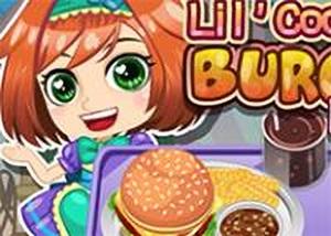 莉莉的漢堡午餐