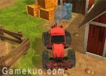 3D拖拉機農場停車