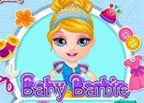 芭比娃娃的公主裙