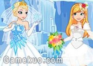 冰雪安娜當伴娘
