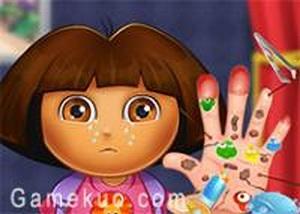 Dora手傷看醫生