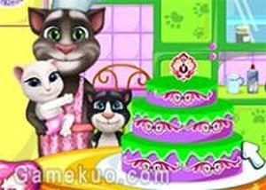 湯姆貓的家庭蛋糕