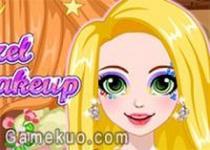 閃亮長髮公主化妝