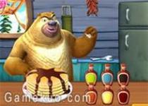 熊出沒之烤煎餅甜點