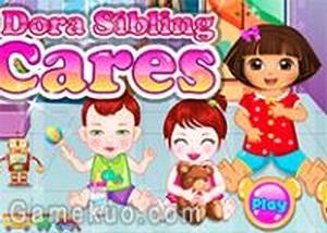 Dora照顧小寶貝