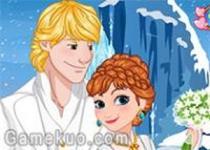 安娜公主婚禮邀請卡