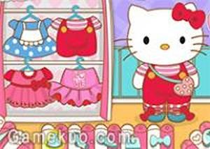 Hello Kitty去上學