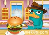 泰瑞烹飪美國漢堡