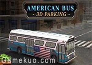 美國大巴士停車
