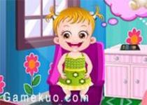 可愛寶貝變身小公主