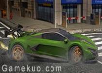 3D跑車停靠