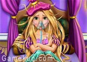長髮公主重感冒