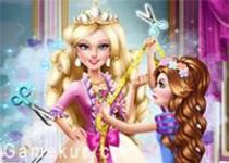 芭比公主做裙子
