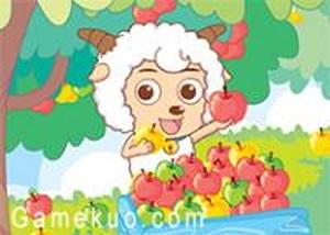 喜羊羊吃水果雙人版