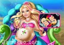 懷孕芭比美人魚