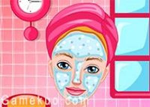 芭比公主臉部美容