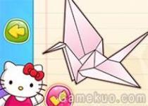 Hello Kitty摺紙教室