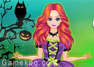 可愛女巫裝扮