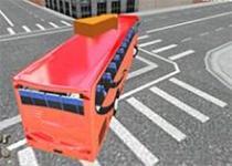 3D城市大巴停車