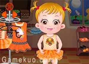 可愛寶貝感恩節造型