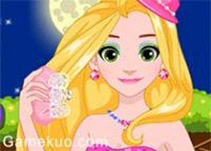 長髮公主閃亮換裝