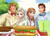 冰雪家族野外聚餐