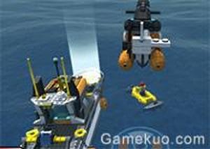 3D樂高海上救援