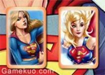 漫畫女超人記憶翻牌