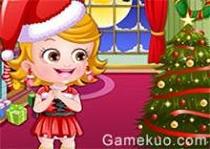 可愛寶貝聖誕換裝