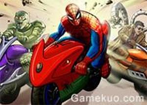 蜘蛛人山路賽車