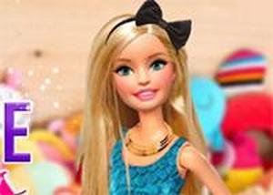 可愛的芭比娃娃玩偶