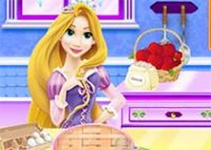 長髮公主做蘋果餡餅