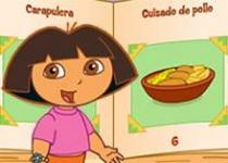 Dora學做早餐