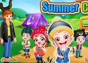 可愛寶貝參加夏令營