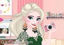 艾莎Facebook時尚裝扮