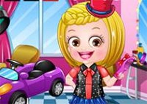 可愛寶貝頭髮造型師