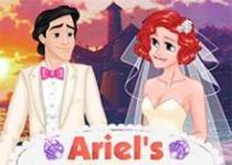 愛麗兒拍婚紗照