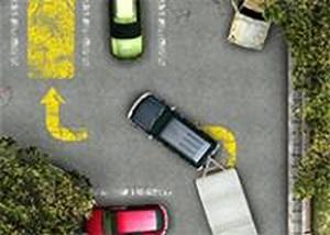 老舊的停車場2