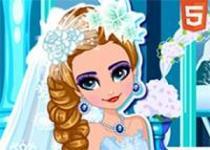 冰雪女王婚禮裝