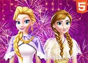 冰雪姐妹新年晚會