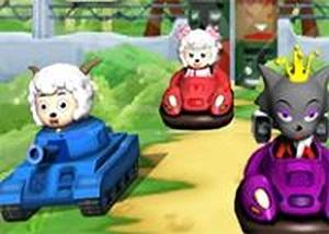 喜羊羊碰碰車3D