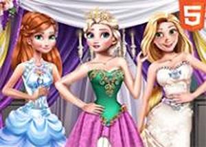公主冬季晚會禮服