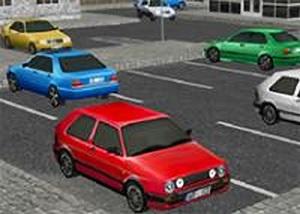 3D城市停車