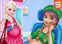 艾莎和安娜懷孕