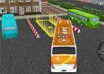 3D公共巴士停車2