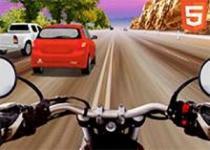 高速公路摩托車狂飆