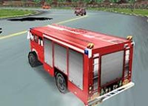 消防卡車3D賽車